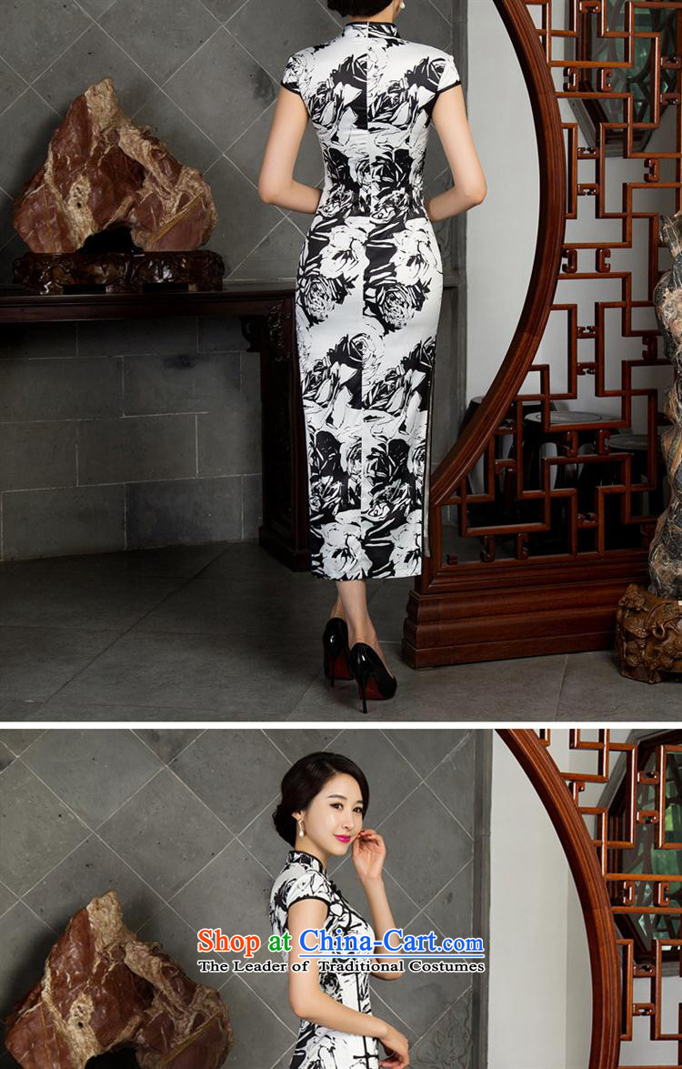 Mano-hwan's cheongsam dress autumn) Improved stylish long qipao sleeveless cheongsam dress聽12021( template specialty), prices, pictures XXL brand platters! The elections are supplied in the national character of distribution, so action, buy now enjoy more preferential! As soon as possible.