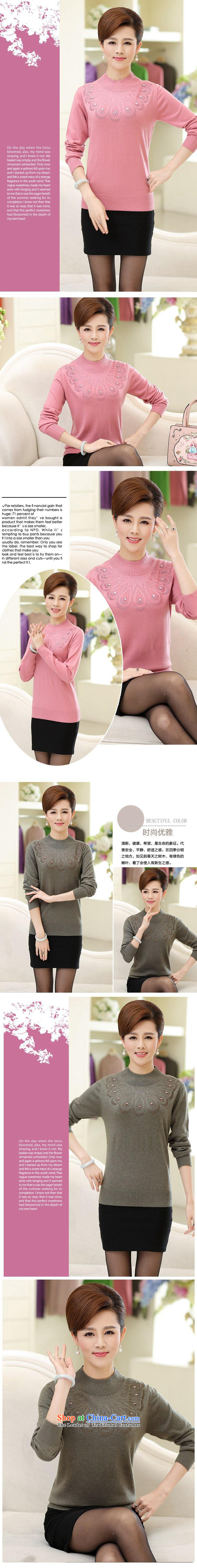 In 2015, the elderly woman fall in new long-sleeved forming the mother with middle-aged pink聽XL Photo, prices, brand platters! The elections are supplied in the national character of distribution, so action, buy now enjoy more preferential! As soon as possible.