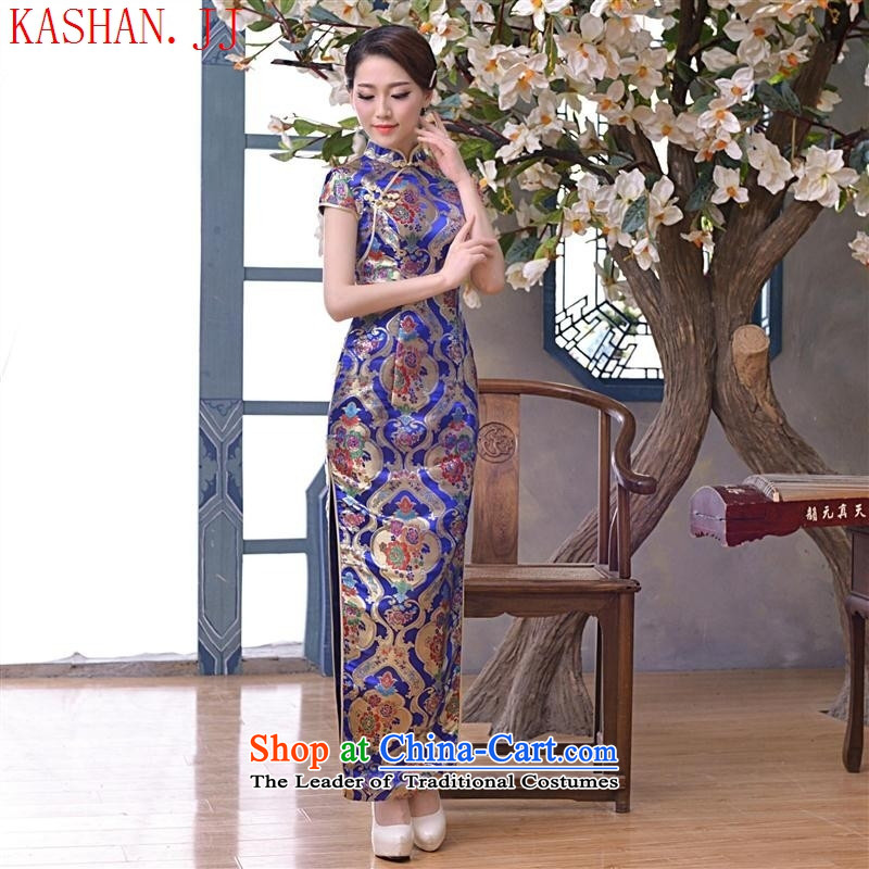 Mano-hwan's 2015 new retro style improved video quality Sau San slender, qipao dresses everyday picture Suit燤