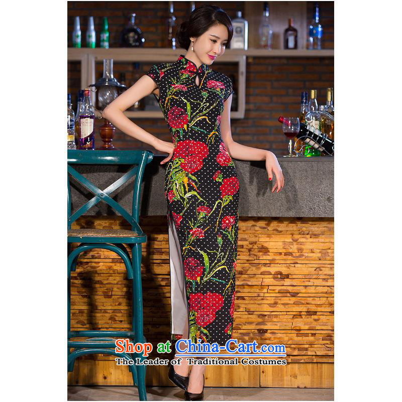 And involved long cheongsam dress autumn 2015) new cheongsam dress daily improved high on women's dresses skirt template features performances�M
