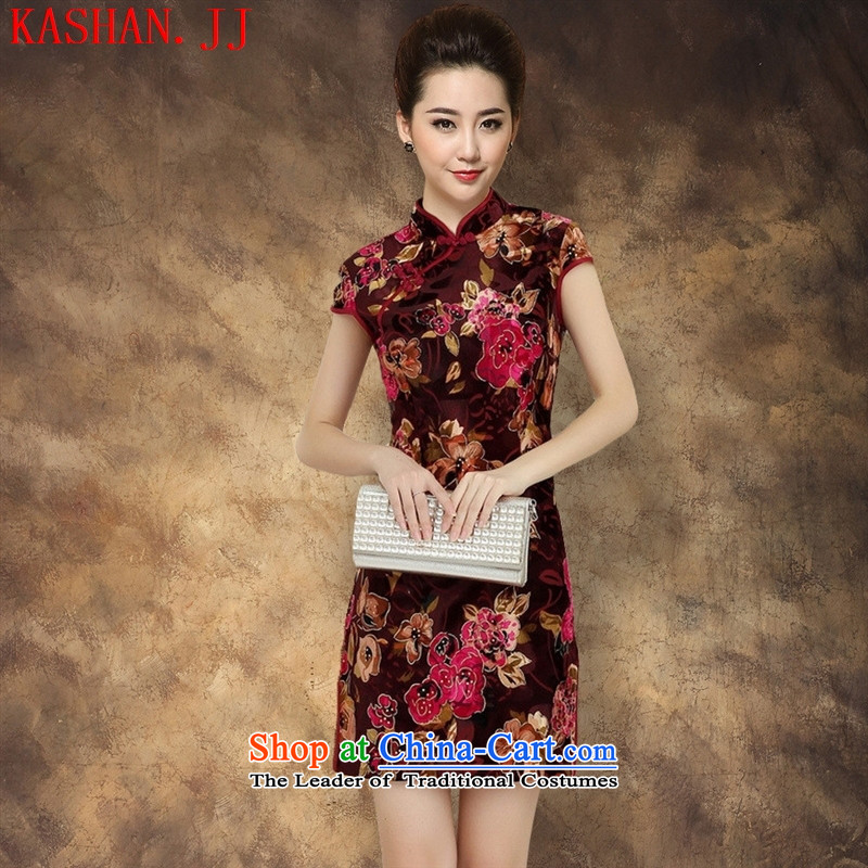 Mano-hwan's 2015 Spring New improved Sau San qipao map color?L