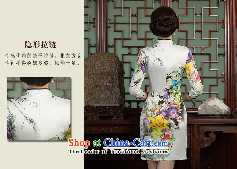 Yuan of heart in Arabic聽retro qipao autumn 2015 replacing stylish 7 cuff double improved cheongsam dress cheongsam dress new Ms.聽SZ3C001聽picture color聽M brand, prices, picture platters! The elections are supplied in the national character of distribution, so action, buy now enjoy more preferential! As soon as possible.