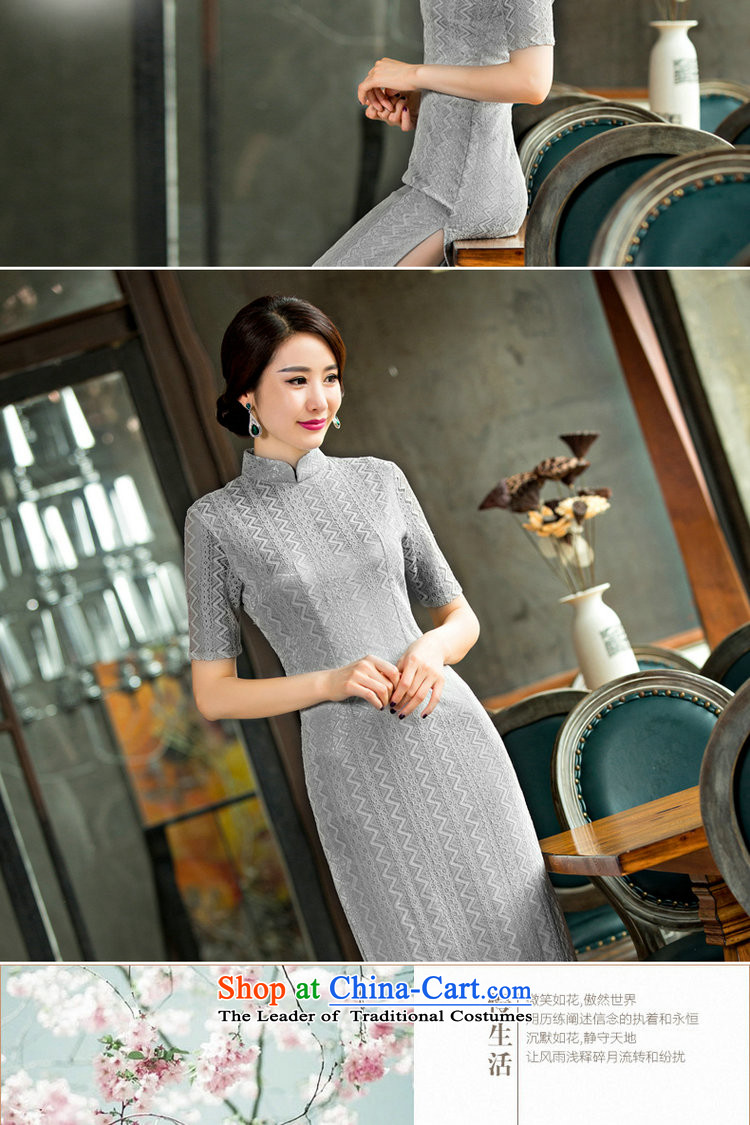 Dan breathing new for women lace qipao skirt retro Chinese collar improved graphics and slender qipao Sau San dresses Ngan Lok聽 M picture, prices, brand platters! The elections are supplied in the national character of distribution, so action, buy now enjoy more preferential! As soon as possible.
