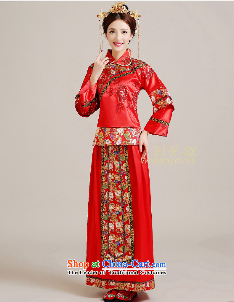 Time Syrian Chinese style wedding-soo wedding gown Wo Service Bridal ...