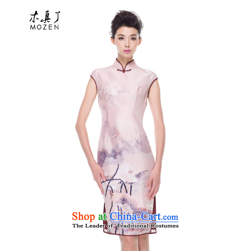 Wood, an improved retro qipao really skirt autumn 2015 replacing the new national wind-Palace herbs extract Sau San Dress Suit聽M 2009-04-08 14-10-38 00