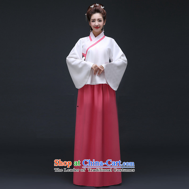 Syria Han-hour costume fairies skirt female Algeria skirt spot exchange for you can multi-select attributes by using system-skirt ancient costumes of Chinese women on the national costumes and new rose red