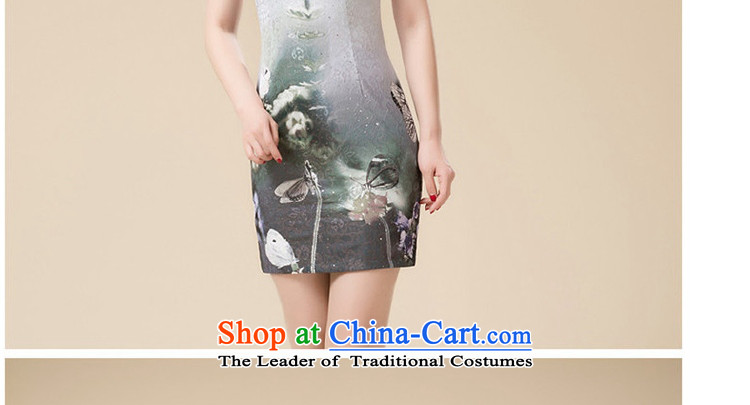 Replace cheongsam look like teenage Sau San Tong replacing niba improved dresses聽HZMWL1813聽gray聽XL Photo, prices, brand platters! The elections are supplied in the national character of distribution, so action, buy now enjoy more preferential! As soon as possible.