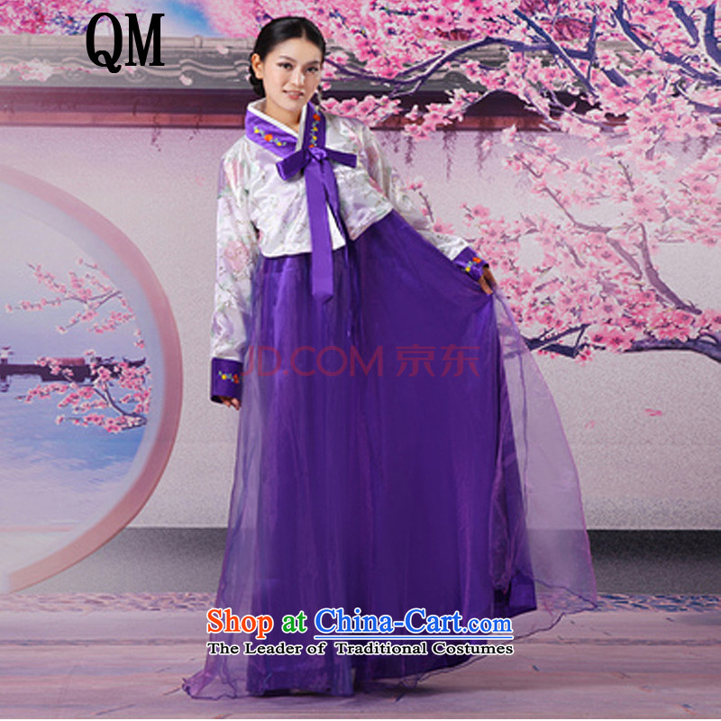 Ancient Han-Women's National costume improved services�are purple CX10 costume code