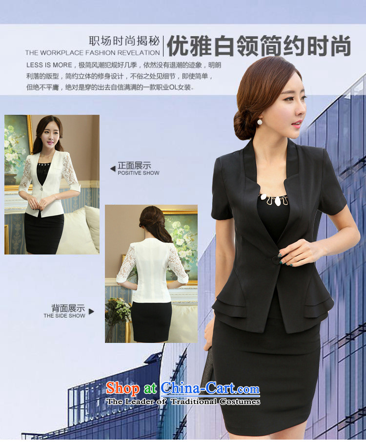 Web soft clothes 2015 Spring/Summer new professional wear skirts Korean female kit commuter short-sleeved western dress suits OL Workwear White Kit skirt聽M picture, prices, brand platters! The elections are supplied in the national character of distribution, so action, buy now enjoy more preferential! As soon as possible.