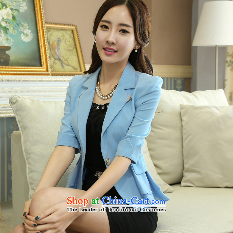 Web Soft Dress Suit 2015 skirt suits women female kit in the cuff is loaded interview stylish white collar uniforms summer girl in red kits skirt燲L