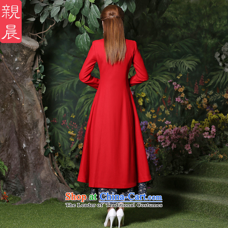 Gross girls jacket? Long autumn 2015 new products female windbreaker larger women a wool coat new fall inside a red jacket + ink, dresses, pro-am , , , shopping on the Internet