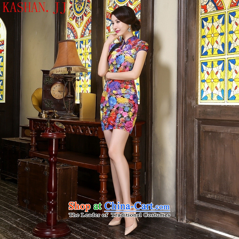 Mano-hwan's temperament qipao qipao Sau San dresses of the water main燲XL