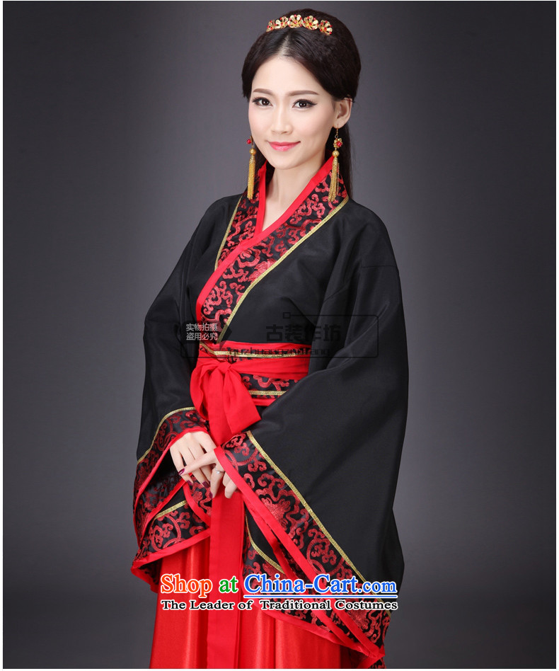 Syria costume Han-hour fairies skirt gliding clothing Tang Dynasty Han-Women's ancient lady in the Guzheng show floor floor white photographic portrait are suitable for pictures, 160-175cm code price, brand platters! The elections are supplied in the national character of distribution, so action, buy now enjoy more preferential! As soon as possible.