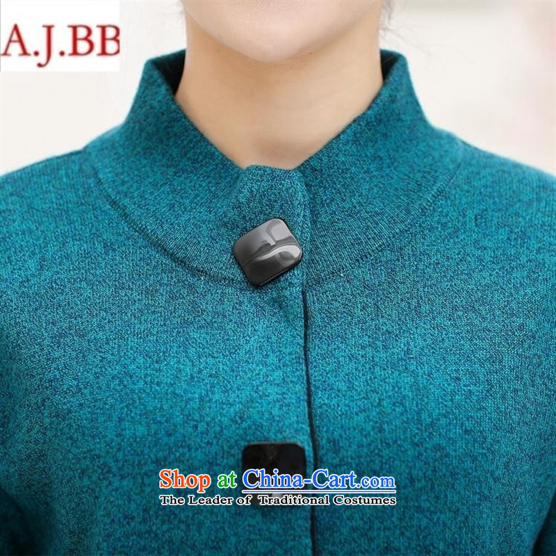 Orange Tysan* women older winter jackets middle-aged moms large load 50-60-year-old wool Knitted Shirt thermal wear girls and color聽115,A.J.BB,,, shopping on the Internet
