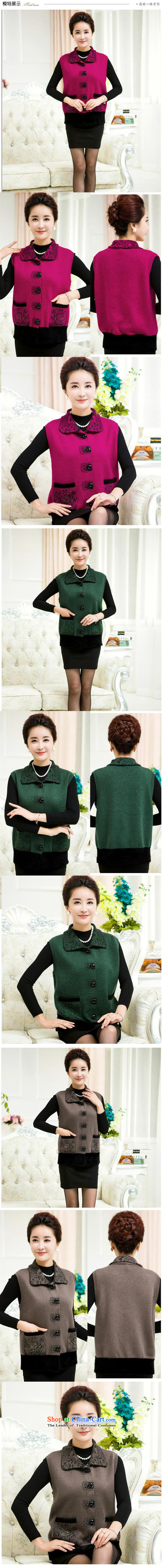 Orange Tysan*, a sweater large older code very casual lapel MOM聽2015. replace older Cardigan Sweater Vest red聽120 pictures, prices, brand platters! The elections are supplied in the national character of distribution, so action, buy now enjoy more preferential! As soon as possible.