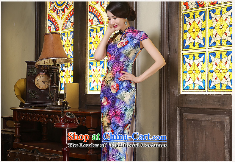 The cheer her flowers Mau New Stylish retro qipao long wool improved qipao autumn long), Ms. qipao gown聽ZA9805聽picture color聽S picture, prices, brand platters! The elections are supplied in the national character of distribution, so action, buy now enjoy more preferential! As soon as possible.