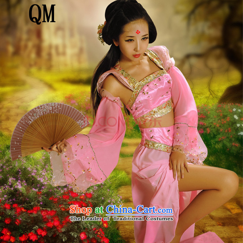At the end of Light Classical Han-floor really ancient costumes?CX11?pink are code