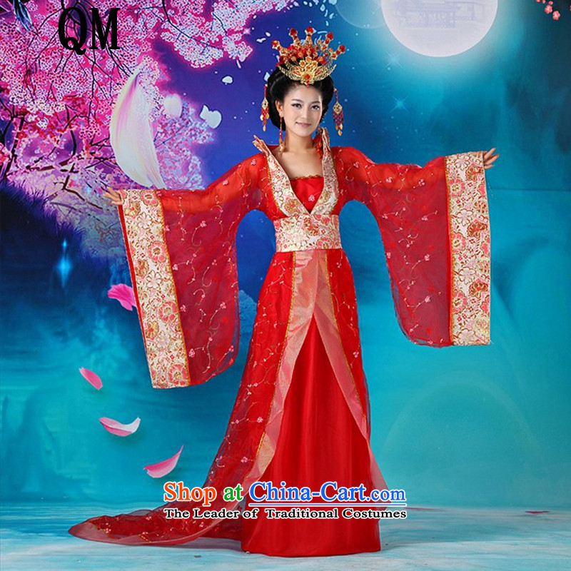 At the end of the stage roving entertainment service light show Services Hon Tang dynasty Empress queen sleeper sofa clothing Wu�CX2 Intrigues�are Code Red