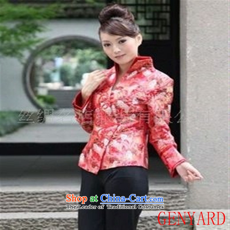 The elderly in the new paragraph GENYARD female stylish new Tang Classic Beauty Figure blue聽XL