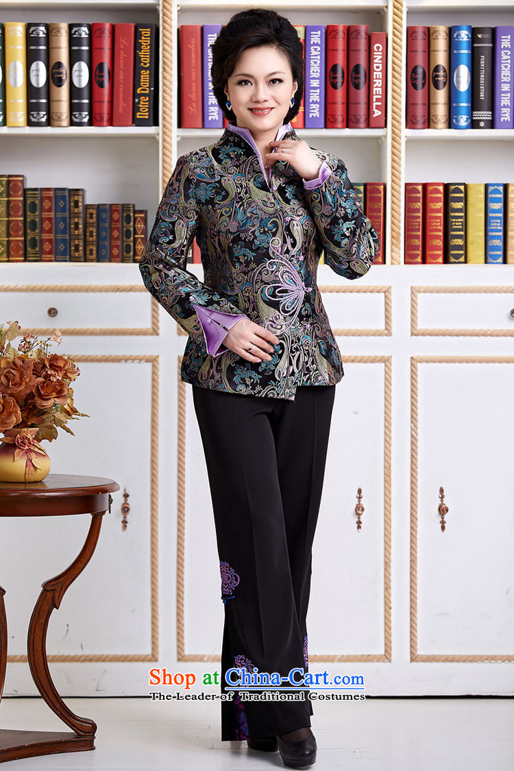 The elderly in accordance with tang GENYARD Yung-chun tang blouses jacket, black XXXL Tang Picture, prices, brand platters! The elections are supplied in the national character of distribution, so action, buy now enjoy more preferential! As soon as possible.