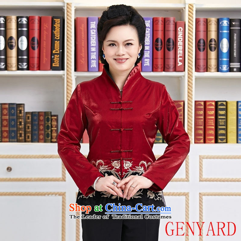 The elderly in the Chinese Tang GENYARD load improved quality assurance Tang Dynasty Chinese middle-aged moms Tang燲XXXL black