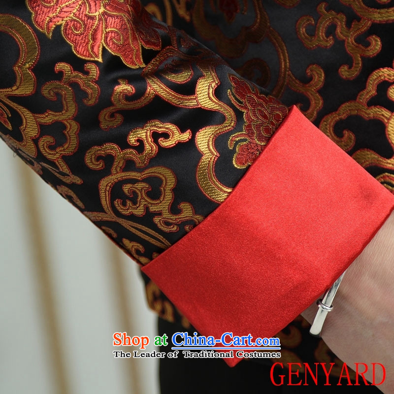 The elderly in accordance with tang GENYARD Yung-chun tang blouses jacket, black XL,GENYARD,,, Tang shopping on the Internet