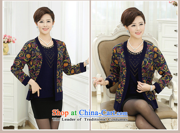 The fall in the new GENYARD older really two kits Knitted Shirt girl aged 40-50 Cardigan large load sweater jacket of mother red聽L picture, prices, brand platters! The elections are supplied in the national character of distribution, so action, buy now enjoy more preferential! As soon as possible.