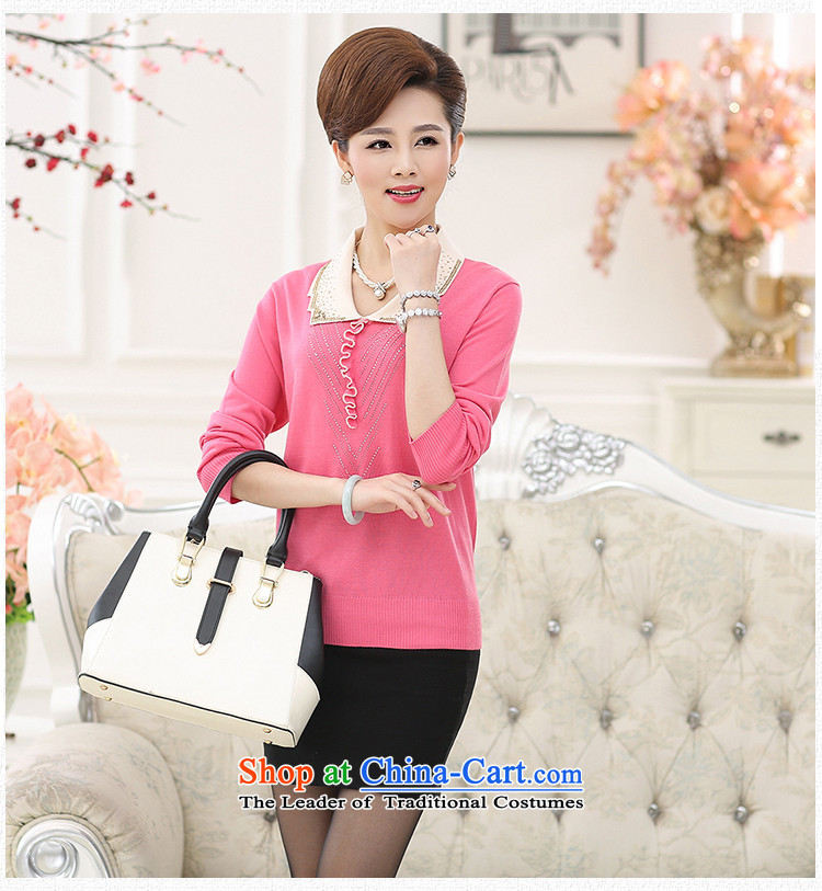 Long-sleeved blouses and middle-aged GENYARD2015 knitted shirts sweater autumn aware of the elderly in the mother with solid shirt woolen sweater pink 2XL( recommendations 135-150 female catty) Picture, prices, brand platters! The elections are supplied in the national character of distribution, so action, buy now enjoy more preferential! As soon as possible.