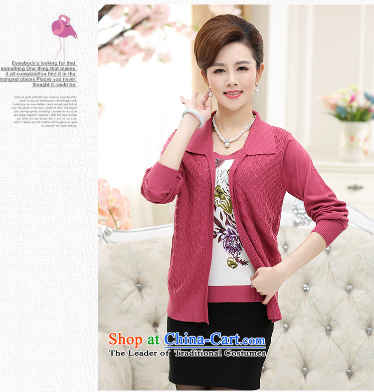 In the number of older women's GENYARD autumn Knitted Shirt Cardigan jacket 40-50-year-old mother with really two kits middle-aged female clothes Yellow聽2XL Photo, prices, brand platters! The elections are supplied in the national character of distribution, so action, buy now enjoy more preferential! As soon as possible.