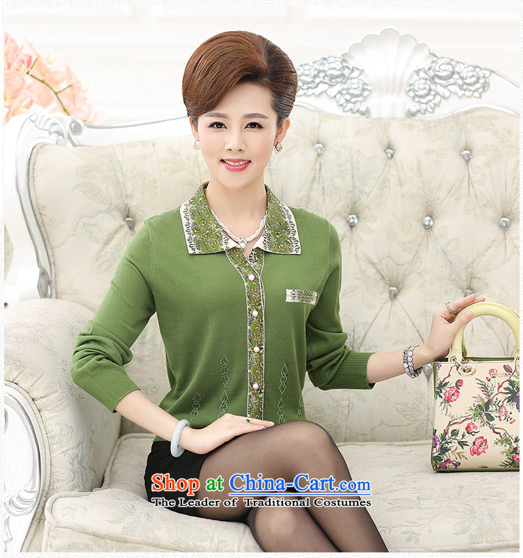 The elderly in the new GENYARD female autumn woolen knitted shirts larger mother load 2015 flip Neck Sweater Cardigan light jacket purple聽L recommendations 105-120 catty) Picture, prices, brand platters! The elections are supplied in the national character of distribution, so action, buy now enjoy more preferential! As soon as possible.