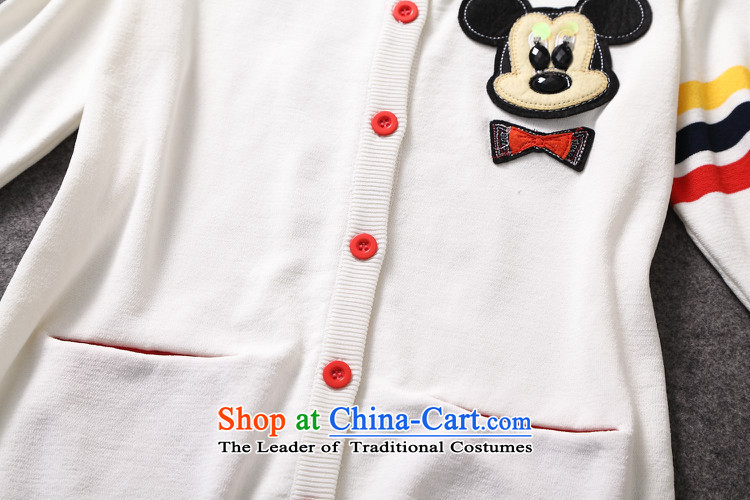 The Secretary for women involved in-store. New Products, Europe and the external trade of the 2014 autumn female Mickey stamp long-sleeved sweater knit shirts W319B3 Blue聽M picture, prices, brand platters! The elections are supplied in the national character of distribution, so action, buy now enjoy more preferential! As soon as possible.