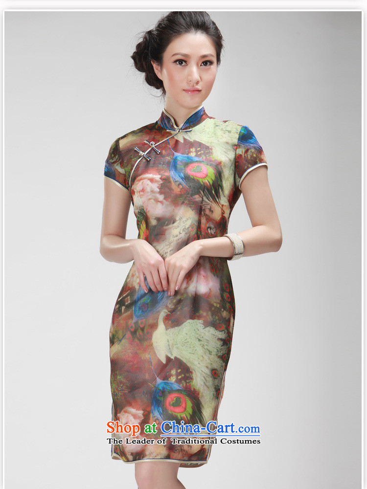 Mano-hwan's new president summer stylish improved national wind retro cheongsam dress daily qipao khaki聽M picture, prices, brand platters! The elections are supplied in the national character of distribution, so action, buy now enjoy more preferential! As soon as possible.