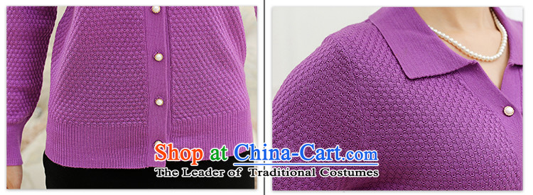 The Secretary for Health concerns of older women shop * spring and autumn 40-50-year-old jacket middle-aged moms Knitted Shirt Cardigan lapel of long-sleeved T-shirt with a light purple聽2XL120 picture, prices, brand platters! The elections are supplied in the national character of distribution, so action, buy now enjoy more preferential! As soon as possible.