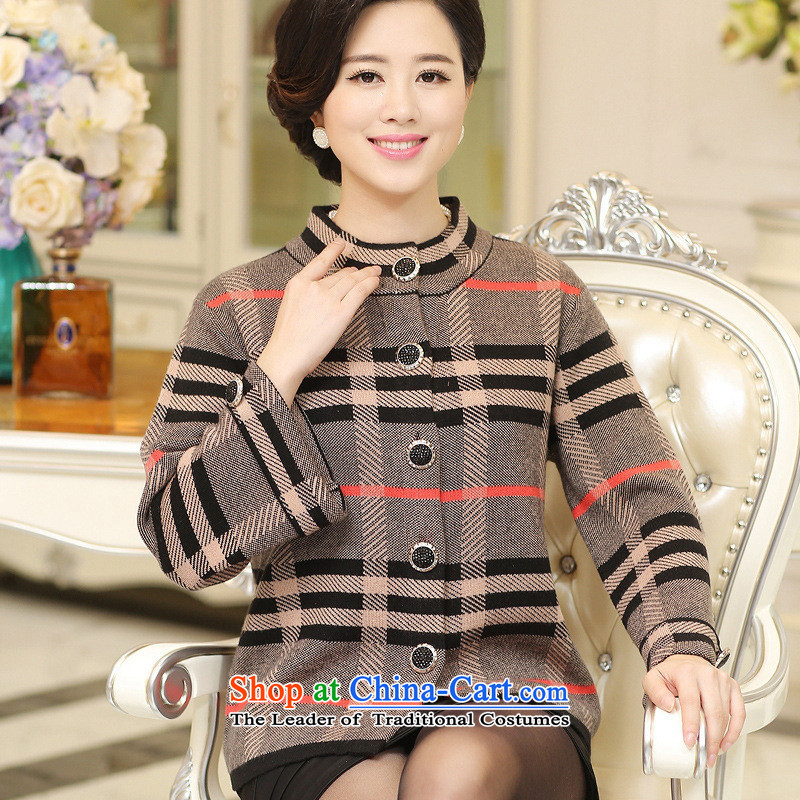 The Secretary for Health concerns of older women shop _ replacing autumn and winter coats mother loaded with thick knitwear cardigan older persons Code Red Woolen Sweater Knit聽L recommendations 100-125 catties_