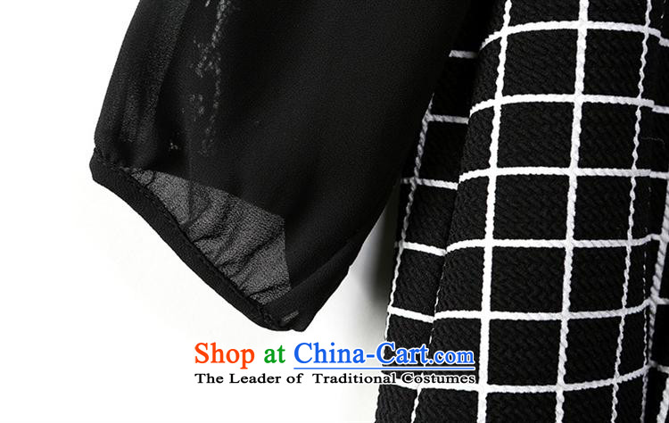 Orange Tysan * autumn load new women's personality lace stitching grid shirt black聽S picture, prices, brand platters! The elections are supplied in the national character of distribution, so action, buy now enjoy more preferential! As soon as possible.