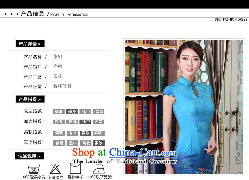 Qipao long 2015 Autumn new dresses and Stylish retro daily video