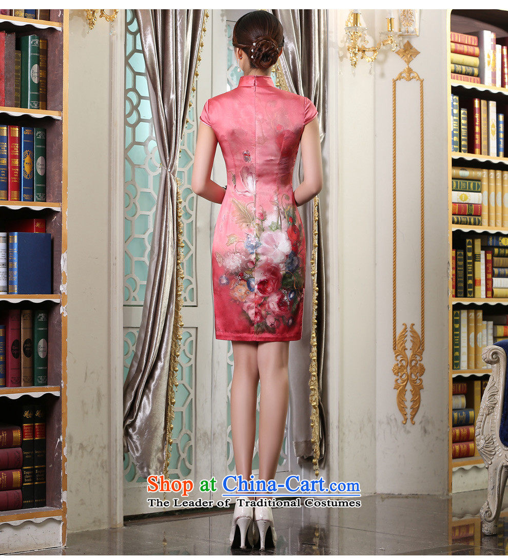 Qipao long 2015 Autumn new dresses and Stylish retro daily video
