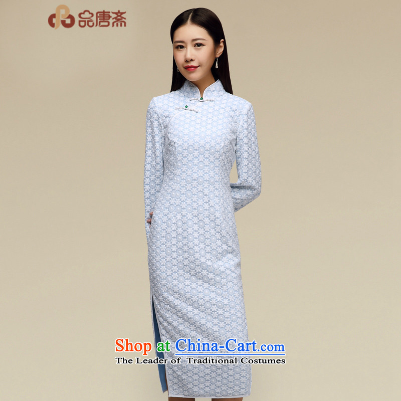 No. Tang lace cheongsam dress Ramadan 015 new Fall_Winter Collections of nostalgia for the medium to long term, good cheongsam dress photo color?M