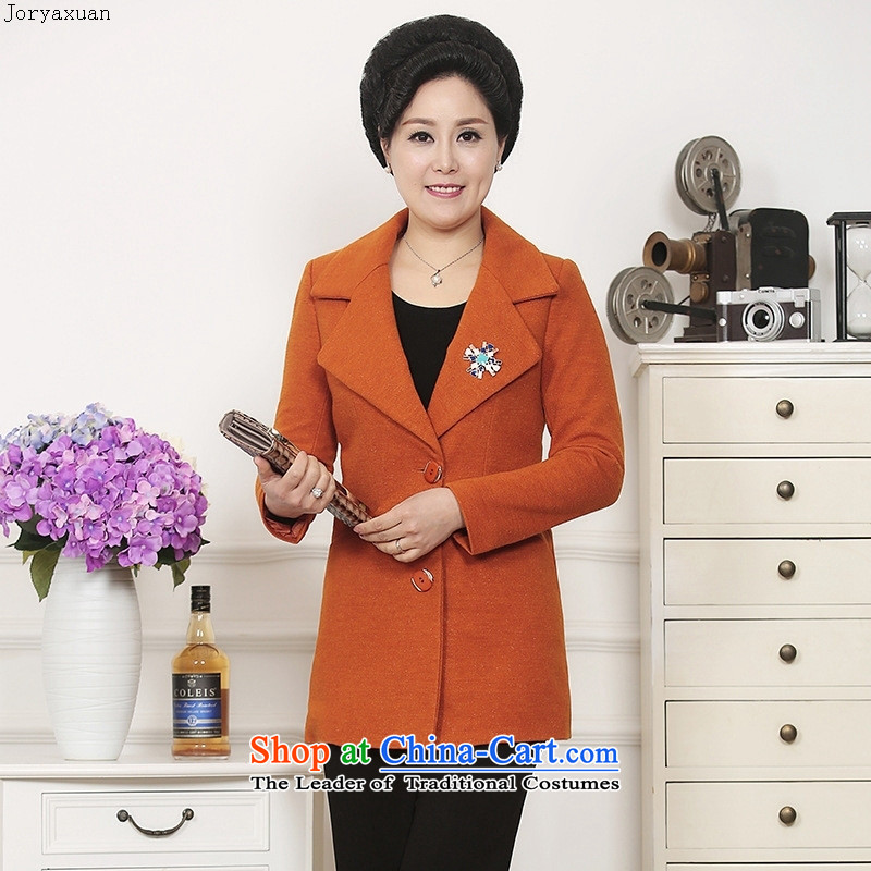 Web soft trappings elderly mother woolen suit girls�15 new autumn loading gray燲L