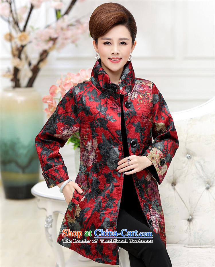 Web soft clothes middle-aged moms replacing autumn new) Older women in autumn jacket Long Hoodie 40-50-year-old聽YQJ158 RED聽XXXL picture, prices, brand platters! The elections are supplied in the national character of distribution, so action, buy now enjoy more preferential! As soon as possible.