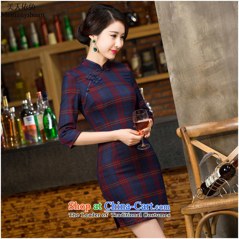 The fall in the new cuff qipao latticed FZ304 283 XL