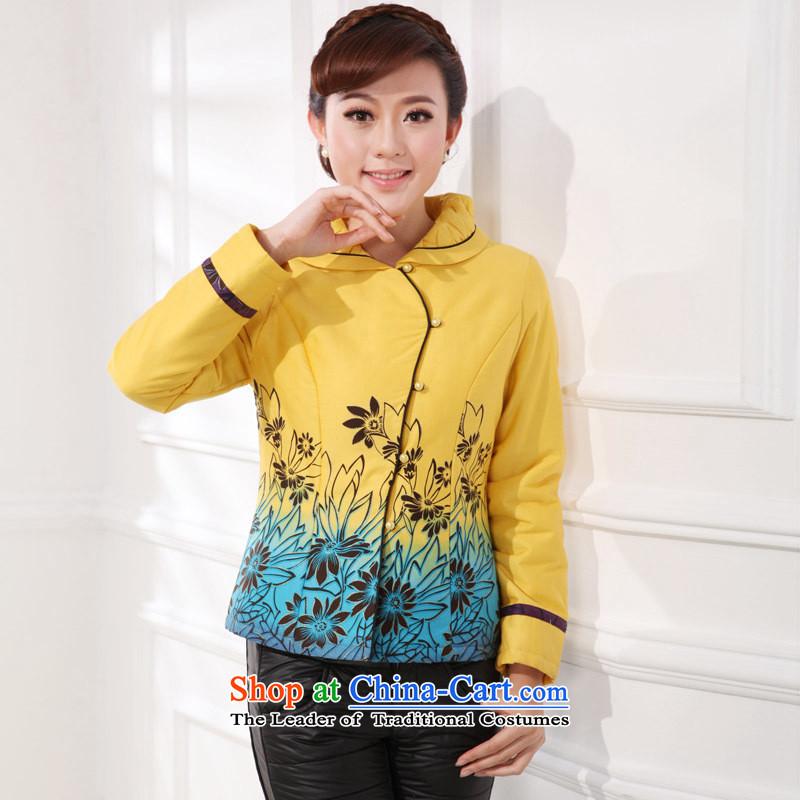 The autumn and winter Tang dynasty new stamp qipao shirt autumn cheongsam dress cheongsam red�XXL