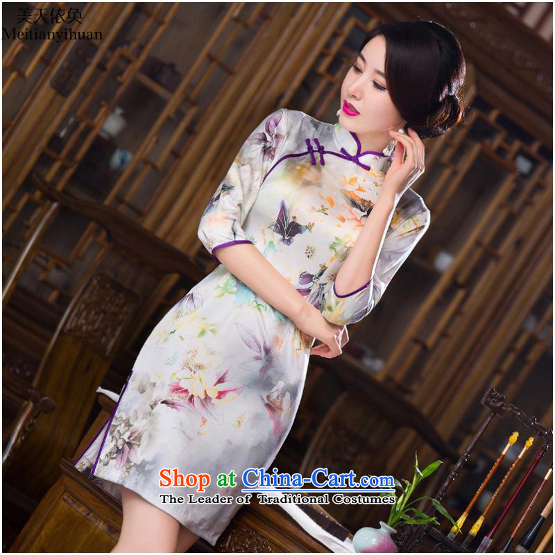 The fall in new cuff FZ304 qipao no. 279 XXL