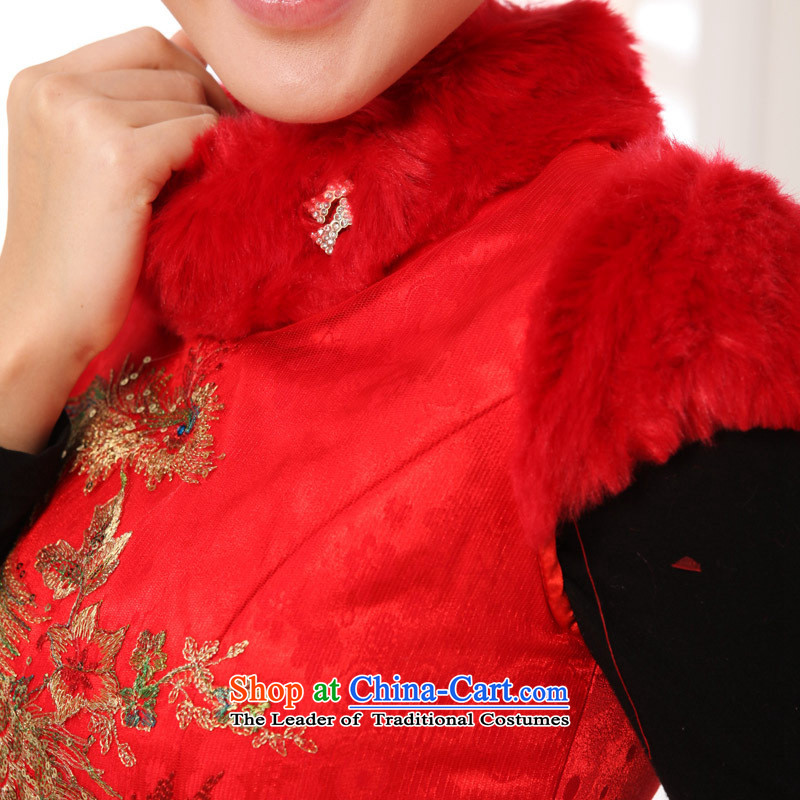 The autumn and winter new embroidery dress round-neck collar package folder cotton improvement shoulder dresses Tang dynasty聽, and involved black CHEONGSAM (rvie.) , , , shopping on the Internet