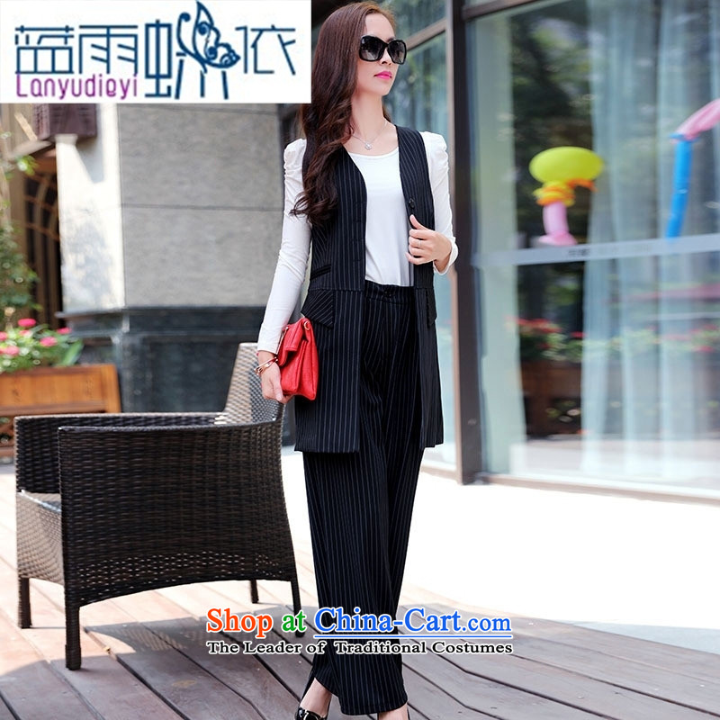 Ya-ting shop 2015 winter clothing new products Korean women's stylish pants kits BSYG6172 Black聽XL, blue rain butterfly according to , , , shopping on the Internet