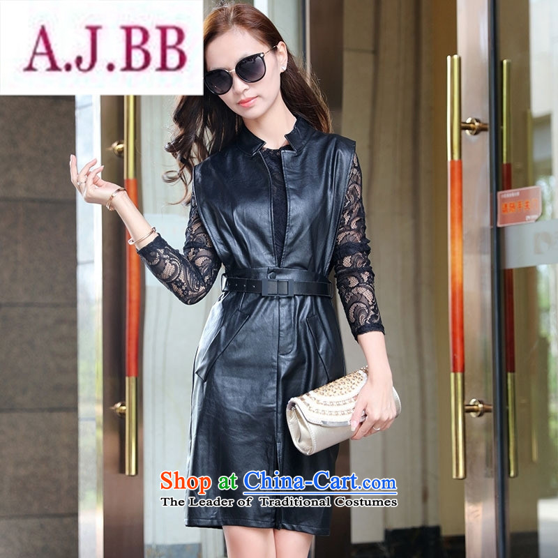 Ms Rebecca Pun stylish shops 2015 winter clothing new products Korean women, a stylish two kits BSYG6180 lung picture color燲L