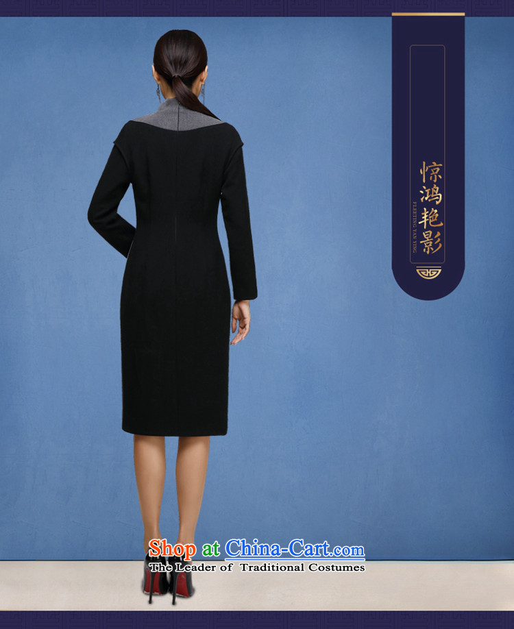 No. of autumn and winter qipao Tang Ramadan 2015 Ms. new long-sleeved retro cheongsam dress map color M brand, prices, picture platters! The elections are supplied in the national character of distribution, so action, buy now enjoy more preferential! As soon as possible.