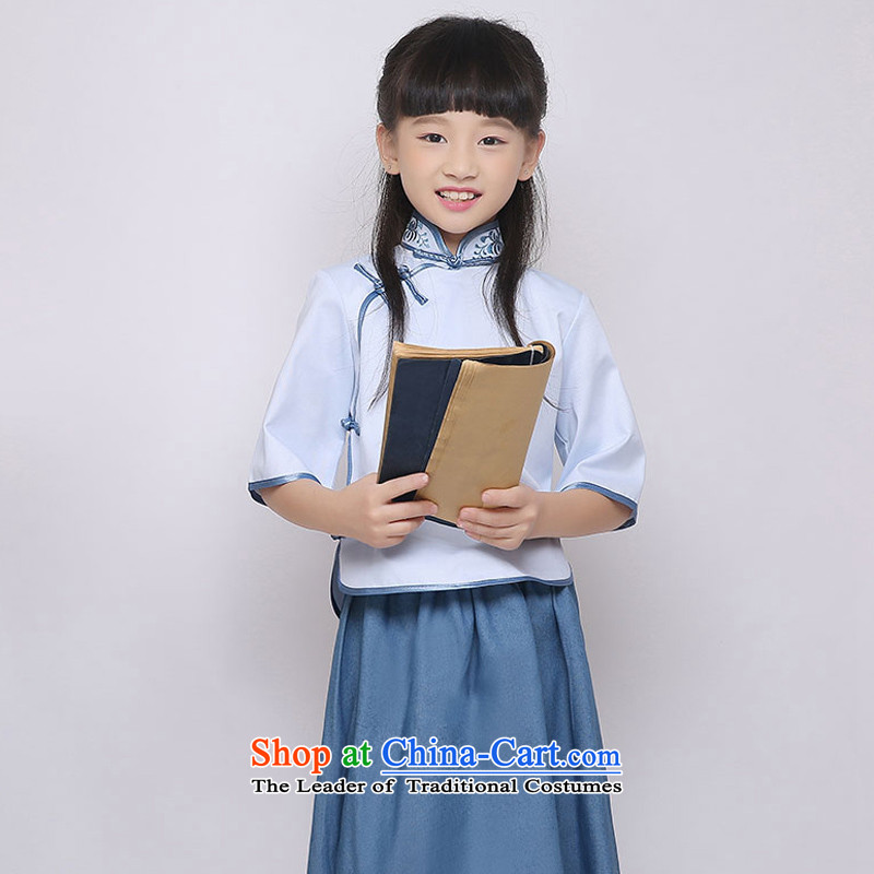 The Republic of Korea, New Syrian time wind republic of korea costume embroidery retro children dance performances to students with girls girls will replace graduated from 4 May Youth drama�0CM