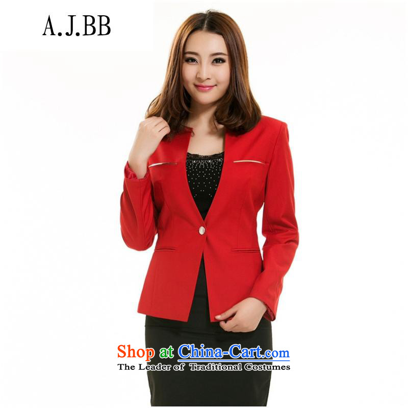 The Secretary for Health related shops spring and autumn replacing new *2015 a grain of detained jacket, Sau San short-Long sleeve female leisure suit XXXL green