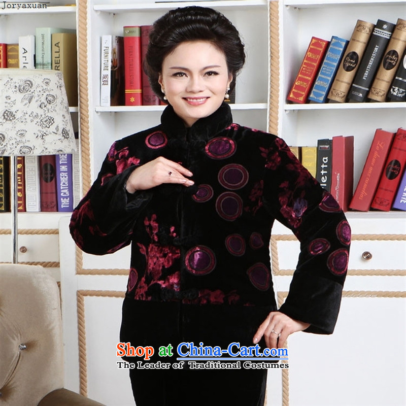 Web soft trappings of older MOM Pack 2011 Fall/Winter Collections New really cotton shirt red cotton wool�L